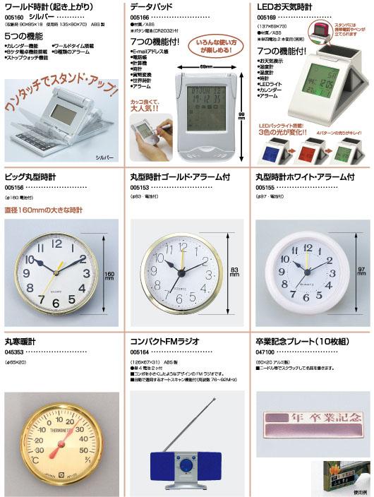 ワールド時計 データパッド クォーツ時計 アンティーククロック 丸型時計