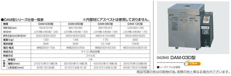 DAMシリーズ DAM-03D型
