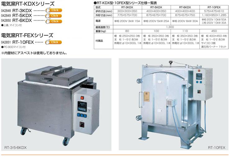 電気窯RT-KDXシリーズ