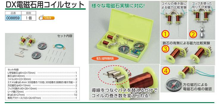 DX電磁石用コイルセット