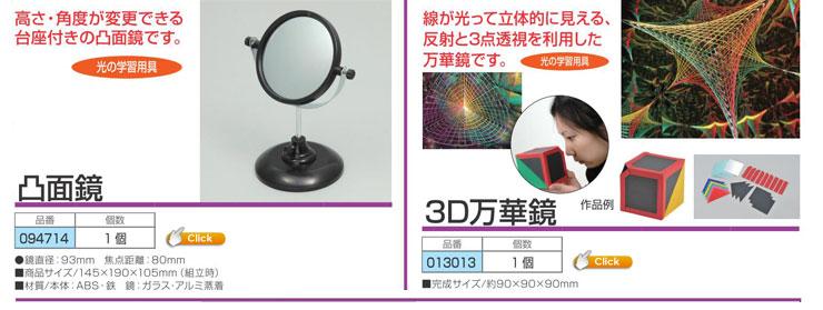 凸面鏡 3D万華鏡