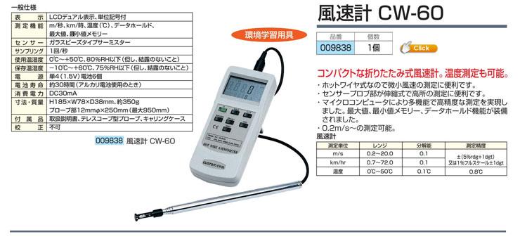 風速計 CW-60
