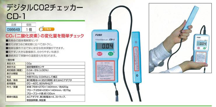 デジタルCO2チェッカーCD-1