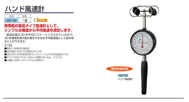 ハンド風速計(25)